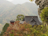 Yamadera Temple on Mount Hoju, Northern Honshu, Japan Photographic Print by Schlenker Jochen