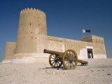 Al Zu Barah Fort, Restored and Now Open as a Museum, Qatar, Middle East Photographic Print by Ryan Peter