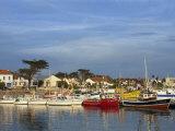 Harbour, La Cotiniere, Ile D'Oleron, Poitou Charentes, France, Europe Impressão fotográfica por Thouvenin Guy