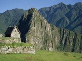 Macchu Picchu, UNESCO World Heritage Site, Peru, South America Photographic Print by Jane Sweeney