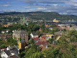 City Skyline with Cathedral and Mollenberg, Trondheim, Norway, Scandinavia, Europe Photographic Print by Simanor Eitan