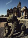 Kandariya Temple, Devi Jagadamba, Khajuraho, Madhya Pradesh State, India Photographic Print by Woolfitt Adam