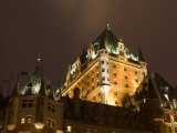 Fairmont Le Chateau Frontenac Hotel, Quebec City, Province of Quebec, Canada, North America Photographic Print by Snell Michael