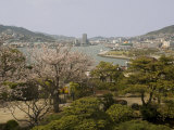 View of City and Harbour from Glover Gardens, Nagasaki, Japan Photographic Print by Richardson Rolf