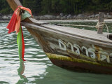 Boat, Kota Beach, Phuket, Thailand, Southeast Asia Photographic Print by Tondini Nico