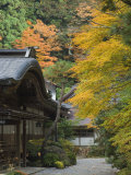 Buddhist Temple, Koya-San, Kansai, Honshu, Japan Photographic Print by Schlenker Jochen