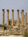 Artemis Temple, Jerash, Jordan, Middle East Photographic Print by Richardson Rolf