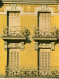 Balconies, Madrid, Spain, Europe Photographic Print by Strachan James
