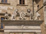 Palazzo Tarugi, Piazza Grande, Montepulciano, Val D'Orcia, Siena Province, Tuscany, Italy, Europe Photographic Print by Pitamitz Sergio
