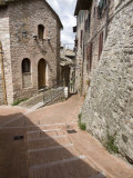 Vicoli, Side Streets, Assisi, Umbria, Italy, Europe Photographic Print by Olivieri Oliviero
