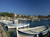 Harbour, Ile De Porquerolles, Near Hyeres, Var, Cote D'Azur, Provence, France, Mediterranean Photographic Print by Tomlinson Ruth
