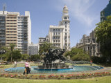 Plaza Fabini, Montevideo, Uruguay, South America Photographic Print by Richardson Rolf