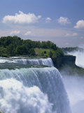 American Falls at the Niagara Falls, New York State, United States of America, North America Reproduction photographique par Rainford Roy