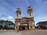 Exterior of the Cao Dai Temple, Near Saigon, Vietnam, Indochina, Southeast Asia Photographic Print by Wright Alison