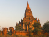 Temple of the Lay-Myet-Hna Group, Bagan, Myanmar Photographic Print by Schlenker Jochen