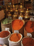 Spices in the Market, Istanbul, Turkey, Europe Photographic Print by Woolfitt Adam
