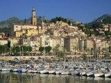 Menton, Alpes Maritimes, Cote D'Azur, Provence, France Photographic Print by Rainford Roy
