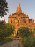 Sulamani Pahto, Bagan, Myanmar Photographic Print by Schlenker Jochen