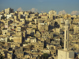 Aerial View over Jebel Alqala'A, Amman, Jordan, Middle East Photographic Print by Simanor Eitan