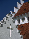 Detail of the Kvaerndrup Church, Funen, Denmark, Scandinavia, Europe Photographic Print by Woolfitt Adam