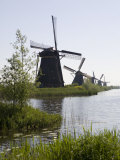 Kinderdijk Windmills, UNESCO World Heritage Site, Holland, Europe Photographic Print by Olivieri Oliviero