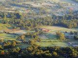 Farmland, Dandenong Ranges, Victoria, Australia, Pacific Photographic Print by Schlenker Jochen