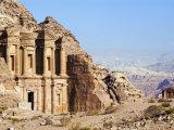 Monastery, Petra, UNESCO World Heritage Site, Jordan, Middle East Photographic Print by Tondini Nico