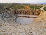 South Theatre, Jerash, a Roman City of the Decapolis, Jordan, Middle East Photographic Print by Schlenker Jochen