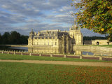 Lake and Castle at Chantilly, in Picardie, France, Europe Photographic Print by Simanor Eitan