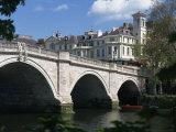 Bridge and River Thames, Richmond, Surrey, England, United Kingdom, Europe Photographic Print by Richardson Rolf
