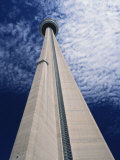 C.N. Tower, Toronto, Ontario, Canada, North America Photographic Print by Winter Timothy