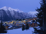 Courchevel, Rhone Alpes, France, Europe Photographic Print by Woolfitt Adam