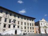 Piazza Dei Cavalieri, Scuola Normale University, Pisa, Tuscany, Italy, Europe Photographic Print by Tondini Nico