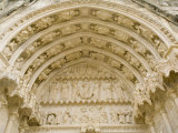 Doorway of Bourges Cathedral, Cher, France Photographic Print by Richardson Rolf
