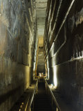 Grand Gallery Inside the Great Pyramid of Khufu, Giza, Egypt Photographic Print by Schlenker Jochen