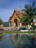 Temple of Wat Chalong, Phuket, Thailand, Southeast Asia Photographic Print by Tomlinson Ruth