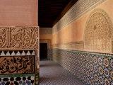 Medersa Ben Youssef, Medina, Marrakesh, Morroco Photographic Print by De Mann Jean-Pierre