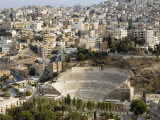 Roman Theatre, Amman, Jordan, Middle East Photographic Print by Tondini Nico