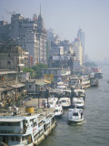 Pearl River Waterfront, Canton, China Photographic Print by Richardson Rolf