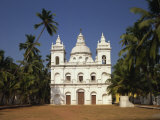 Church of St. Alex, Calangute, Goa, India Photographic Print by Short Michael