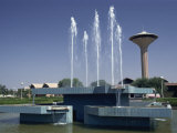 Water Fountain and Tower, Baghdad, Iraq, Middle East Photographic Print by Thouvenin Guy