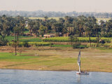 Nile, Luxor, Thebes, Middle Egypt, Egypt, North Africa, Africa Photographic Print by Schlenker Jochen