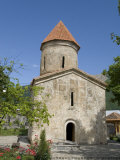 Albanian Church, Dating from the 12th Century, Kish, Near Shaki, Azerbaijan Photographic Print by Waltham Tony