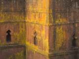 Church of Bet Giyorgis, the Most Famous of Lalibela's Churches, Lalibela, Ethiopia Fotografisk tryk af Jane Sweeney