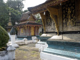 Wat Xieng Thong, Luang Prabang, UNESCO World Heritage Site, Laos, Indochina, Southeast Asia Photographic Print by De Mann Jean-Pierre
