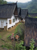 Traditional Village at Kambung Naga on Java, Indonesia, Southeast Asia Photographic Print by Renner Geoff