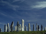 Callanish Stone Circle, Lewis, Outer Hebrides, Western Isles, Scotland, United Kingdom, Europe Photographic Print by Woolfitt Adam