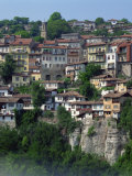 Houses on a Hill in the Town of Veliko Turnovo in Bulgaria, Europe Photographic Print by Richardson Rolf