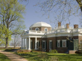 Thomas Jefferson's Monticello, UNESCO World Heritage Site, Virginia, USA Photographic Print by Snell Michael