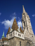 Matthias Church, Budapest, Hungary, Europe Photographic Print by Renner Geoff